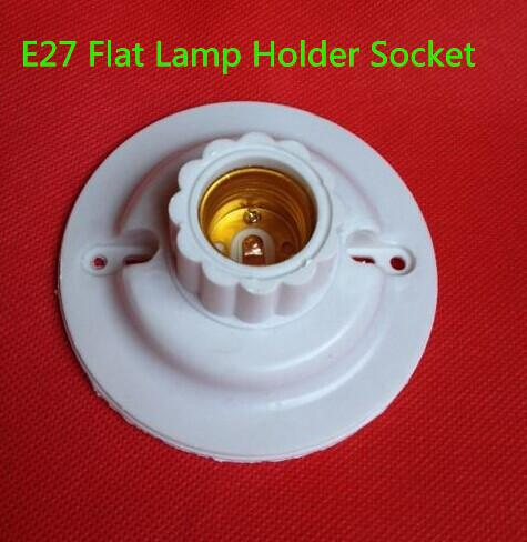 how to fix a lamp socket flat piece