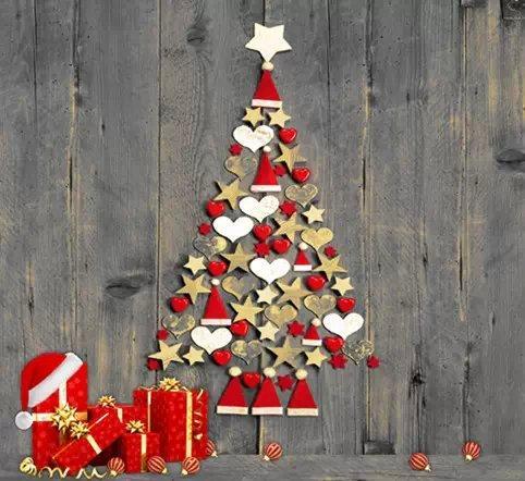Wooden Floor Christmas Vinyl Backdrop Photography Studio ...