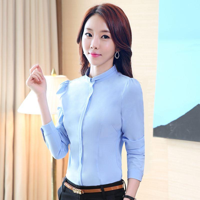 Women'S Office Shirts Blouses | Fashion Ql