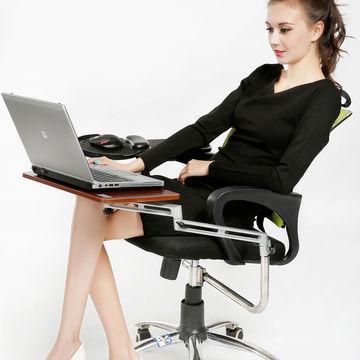 2017 Chair Mount Ergonomic Keyboard Laptop Tray System