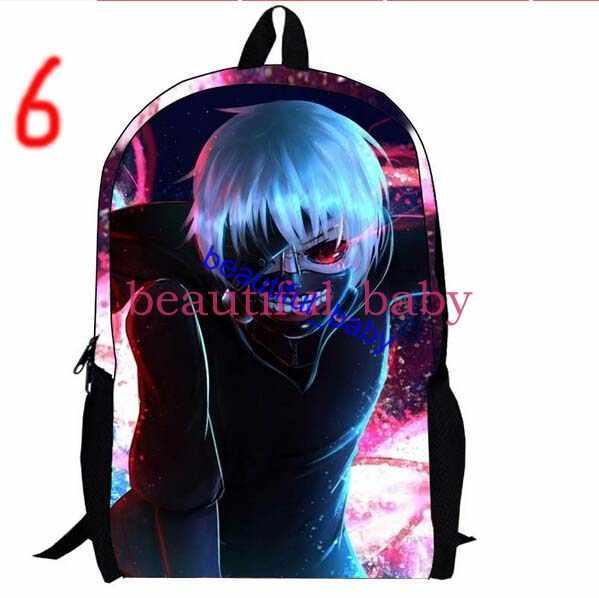 Japan Most Popular Cartoon Tokyo Ghoul Backpack Japanese School ...