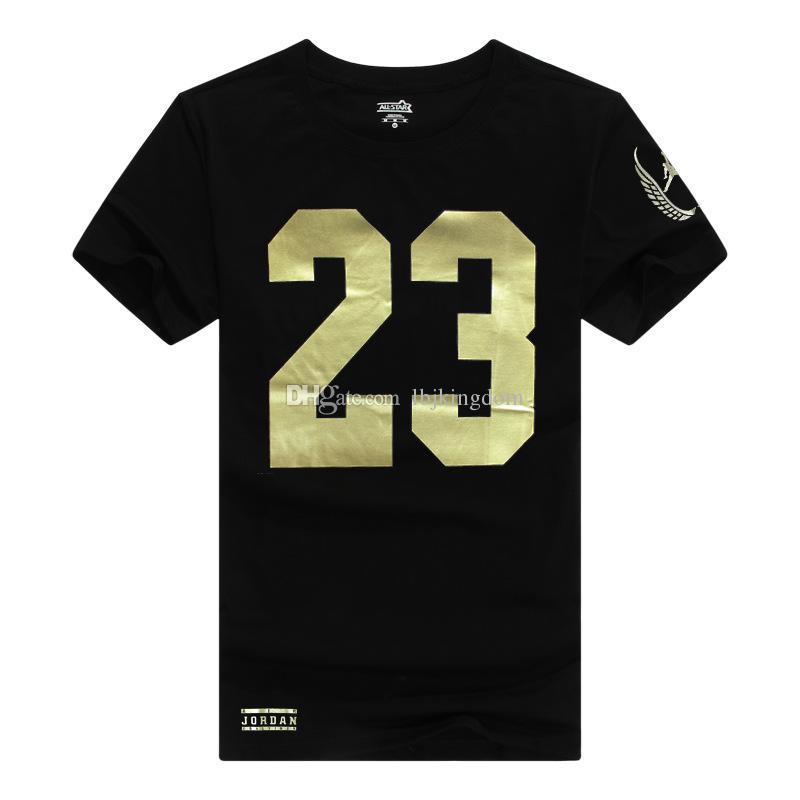 Michael Jordan Basketball T Shirt, 100% Cotton Men Short Sleeves