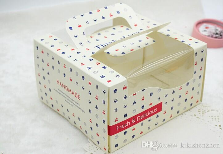 New Arrival Baking Packaging For 4 Cheese Cake Wedding