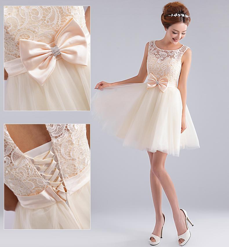Ivory Formal Dresses for Juniors