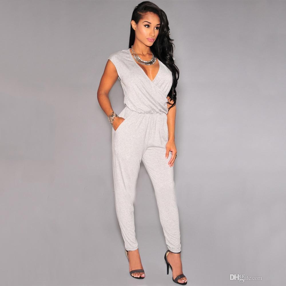 Best Quality Rompers Womens Jumpsuit 2016 New Elegant Cotton ...