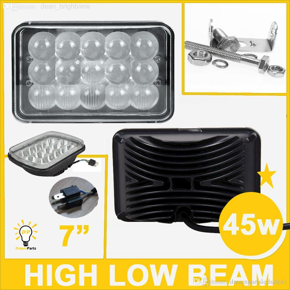 Low Beam Headlight Also High And Low Beam Headlights Besides LED Low