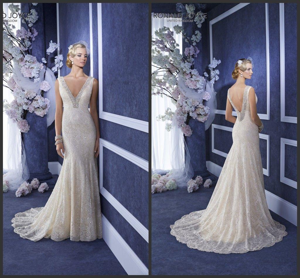 Ellie Mermaid Wedding Dresses 2015 Ronald Joyce Bridal