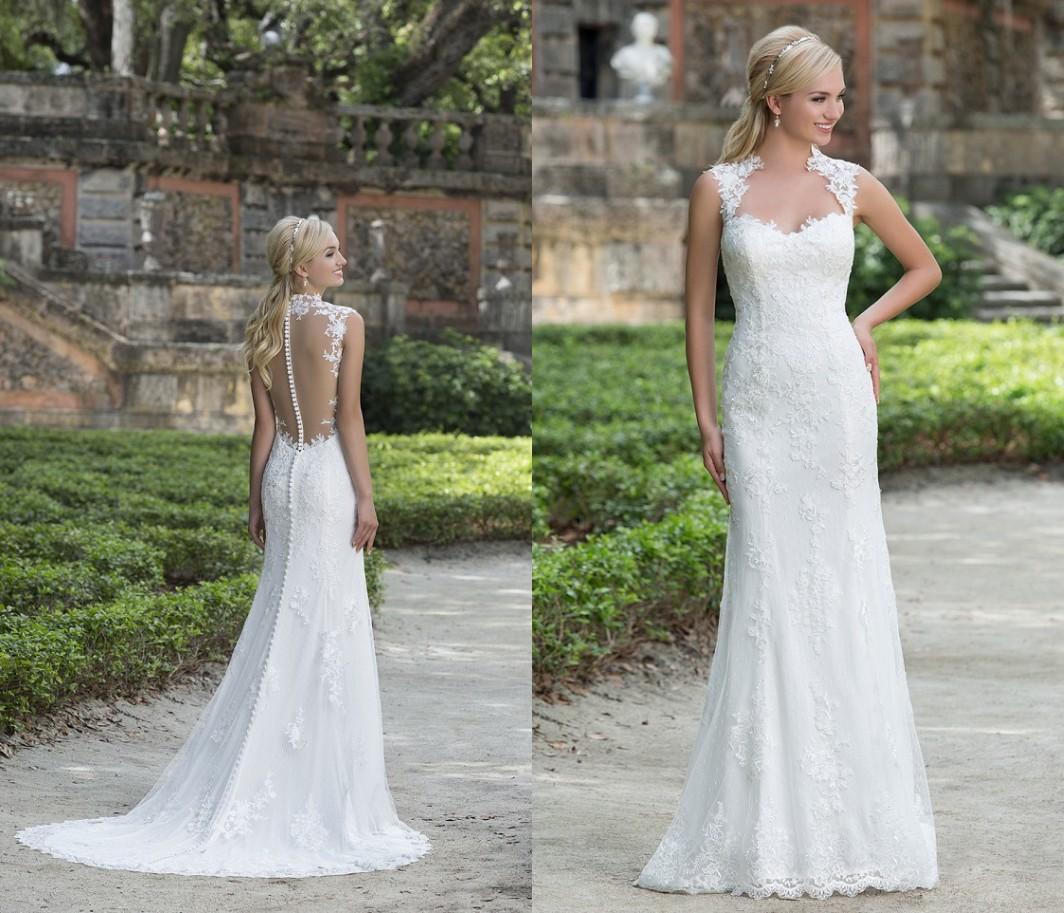 2016 New Mermaid Wedding Dresses Sweetheart Sincerity 3885