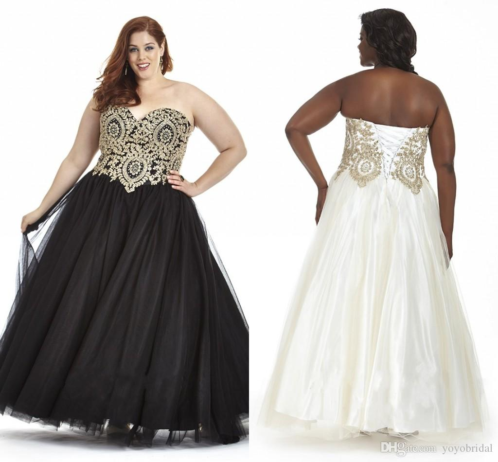 A Line Plus Size Prom Dresses 2016 Off Shoulder Backless Beaded ...