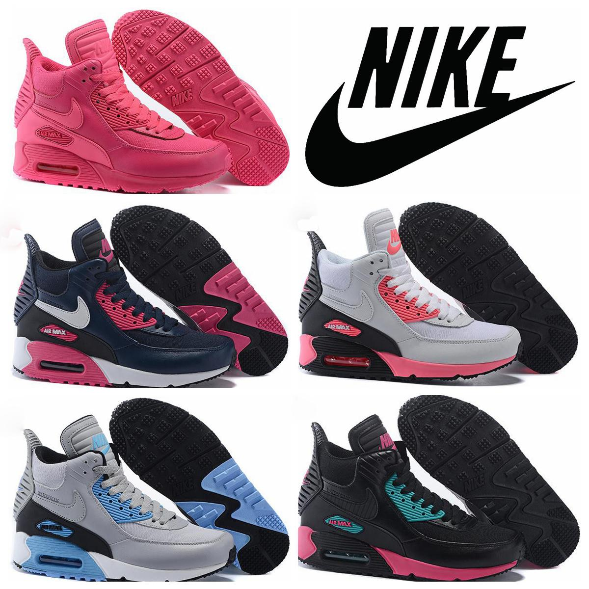 ... nike high tops shoes woman winter ...