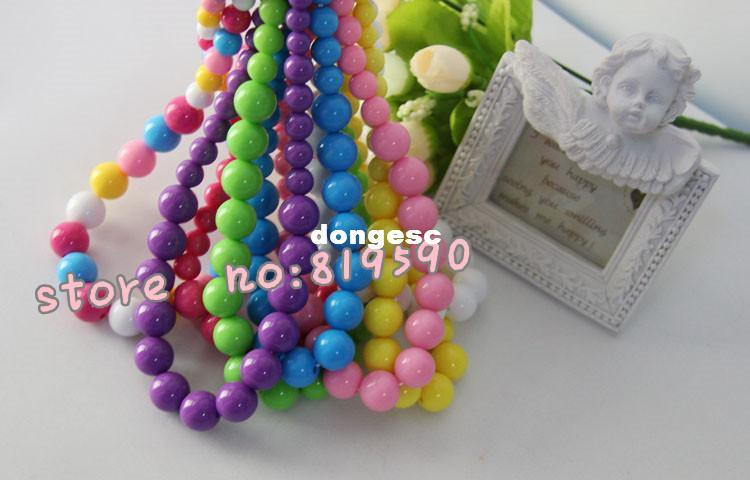 Colorful Bead Necklace Colorful Beaded Necklace