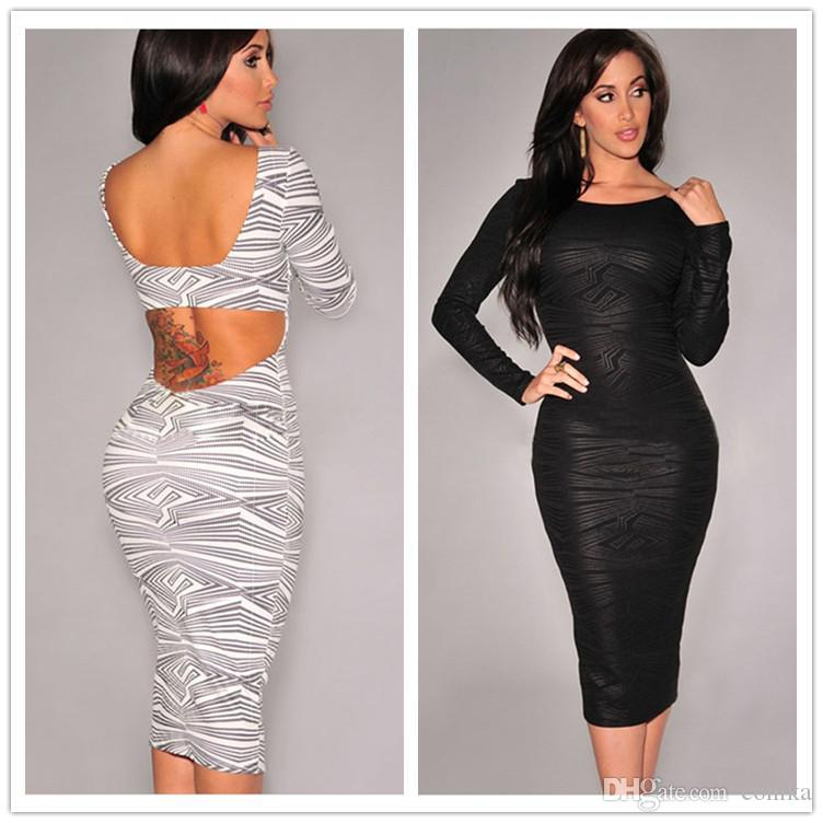 2015 New Fashion Pencil Dress