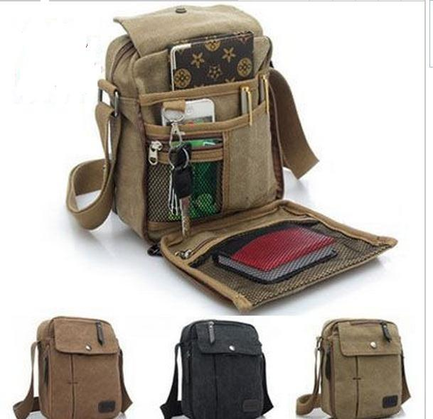 New Men Messenger Bag Casual Multifunction Men Travel Bags Man outdoor Canvas Shoulder Handbags top quality RM017
