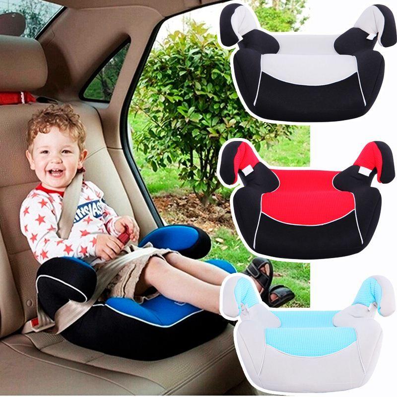 kids booster whiteredblue car seat cushion carrier for children 15 36kgs