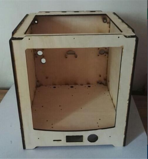 3d printer ultimaker 2 frame um2 panel kit 3 d printer diy laser cut wooden frame kitset 6 mm wood ultimaker 2 frame shell case