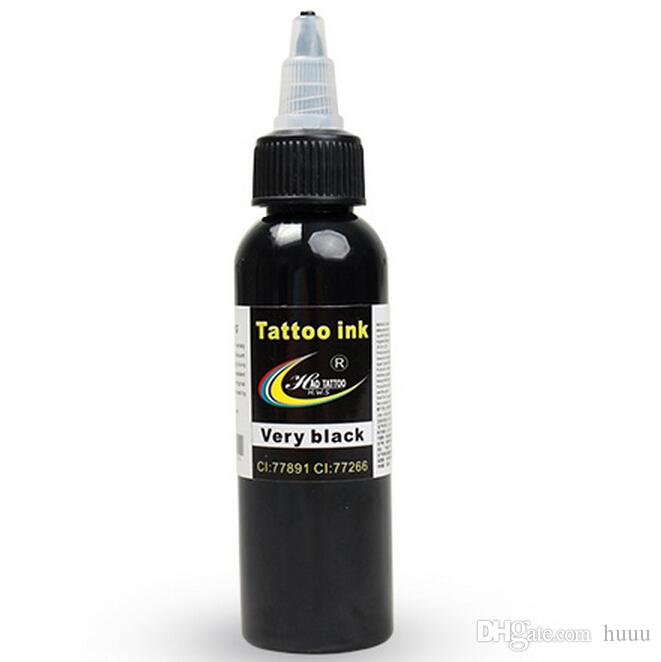 Wholesale dragonhawk tattoo ink 1 pack black color set 1oz for Cheap tattoo ink