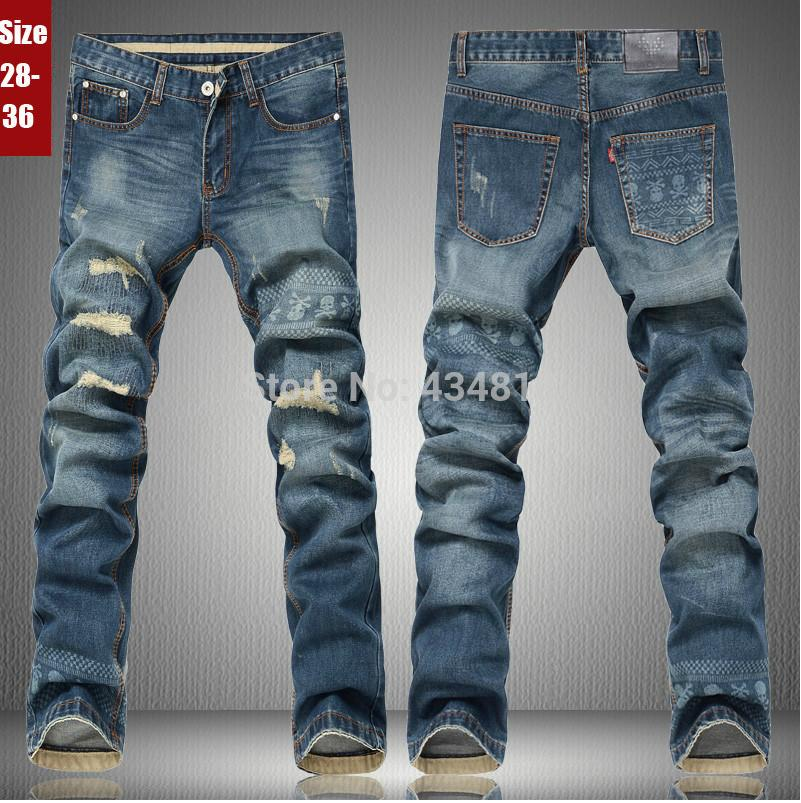 Best New 2015 Mens Blue Denim Overall Designer Ripped Vintage ...