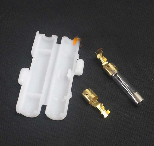 car radio power cable cord fuse fuses box jacket terminals 10pcs car radio power cable cord fuse fuses box jacket terminals connector for yaesu icom