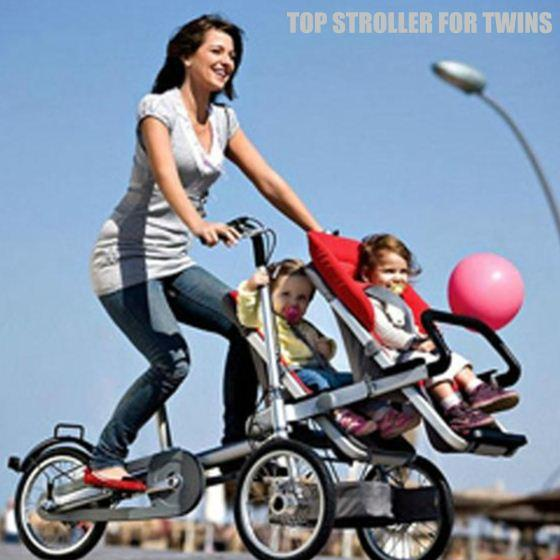 For Twins,Bike & Baby Stroller Combo,Free Transform ...