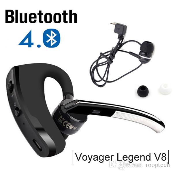 bluetooth headset 4 0 v8 voyager legend in ear earphone wireless stereo headphone with. Black Bedroom Furniture Sets. Home Design Ideas