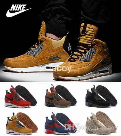 nike air max 90 sneakerboot men's trend boots