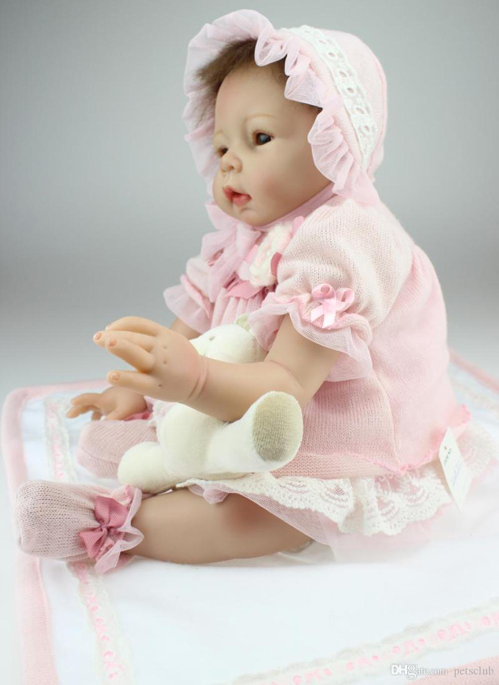 22 Lifelike Reborn Baby Alive Soft Silicone Little