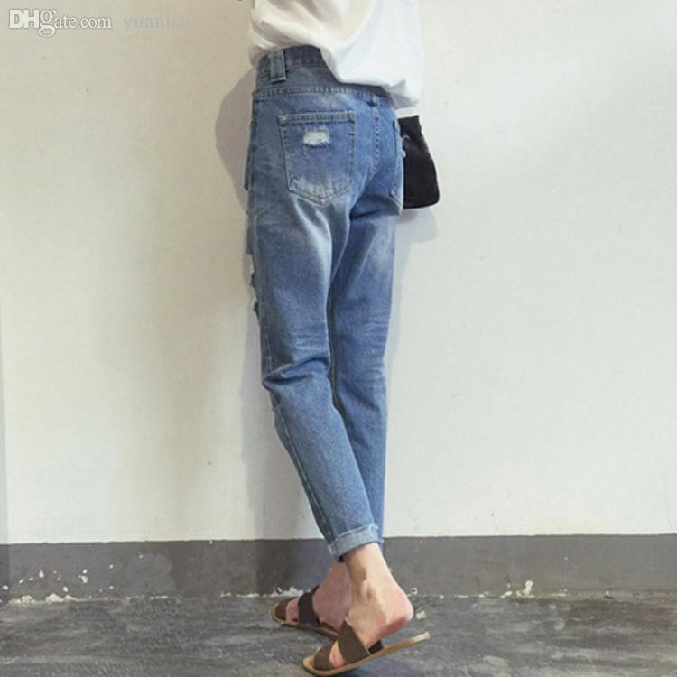 Cheap Korean Boyfriend Jeans Style | Free Shipping Korean ...