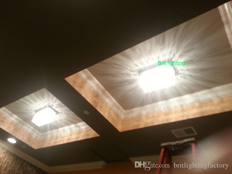 Modern Ceiling Lamps Rectangular Flush Mount Ceiling Lighting
