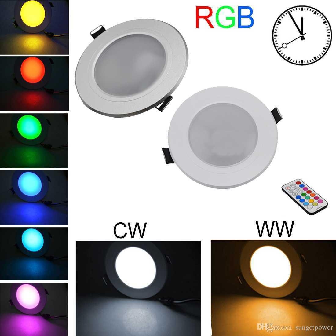 Rgb Led Downlights Ceiling 10w Wholesale Recessed Lights