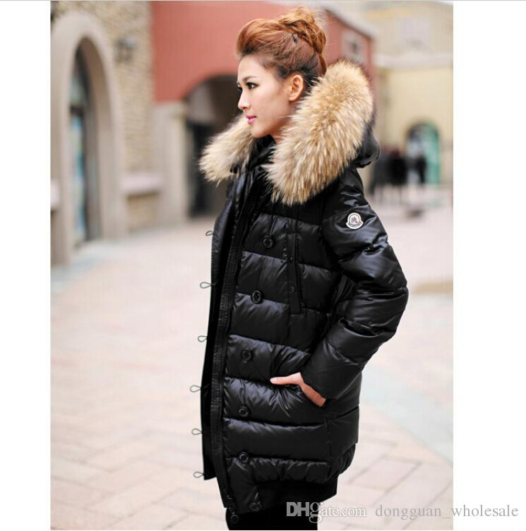 In Stock Winter Women Down Jackets High Quality Women Warm Slim ...