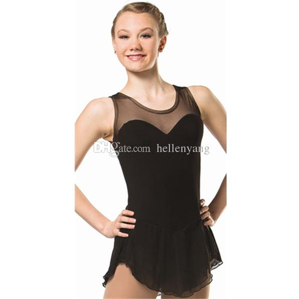 Custom Adult Figure Ice Skating Dresses With Spandex Graceful New ...
