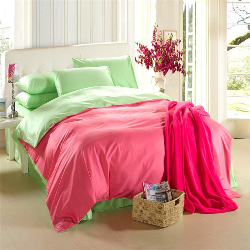 Red Green Bedding Set King Size Queen Quilt Doona Duvet Cover ... : size queen quilt - Adamdwight.com