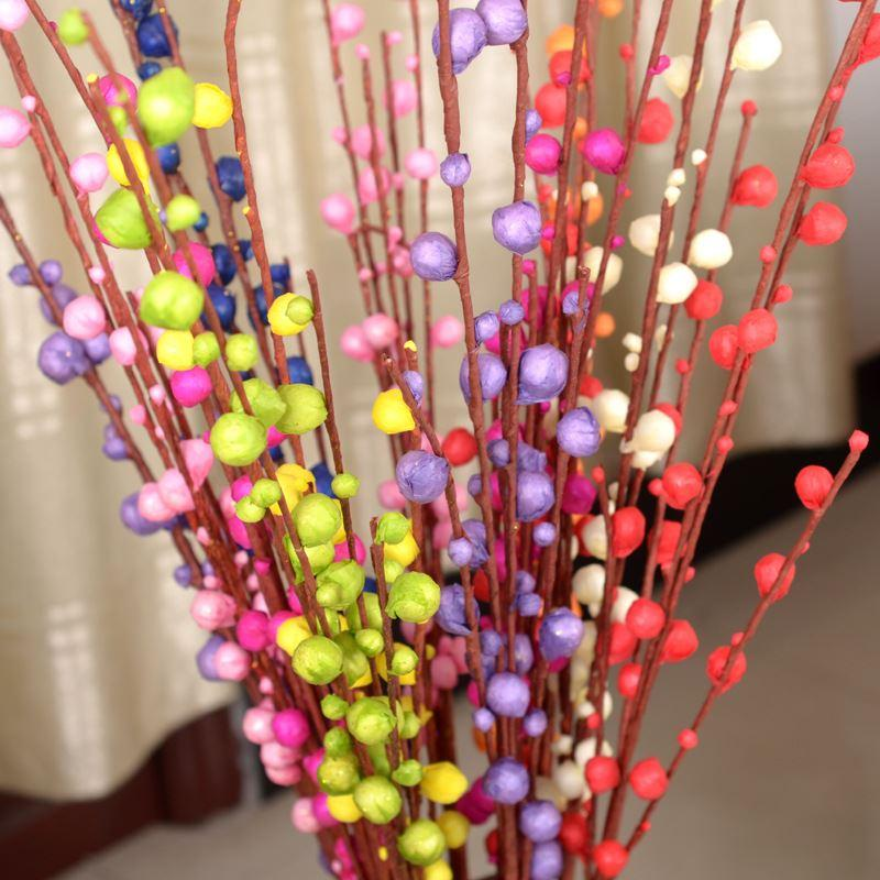 2017 Artificial Flower Bud Bloom Big Yin Liu Fortune Fruit Living Room Decoration Wedding Decoration Home Office Fzh038 From Legou666 27 14 Dhgate Com