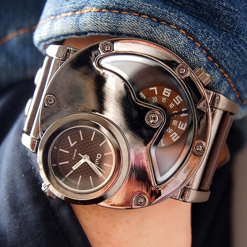 oulm 9591 2atm casual quartz watches men pu leather strap brand oulm 9591 2atm casual quartz watches men pu leather strap brand new fashion designer watch 2