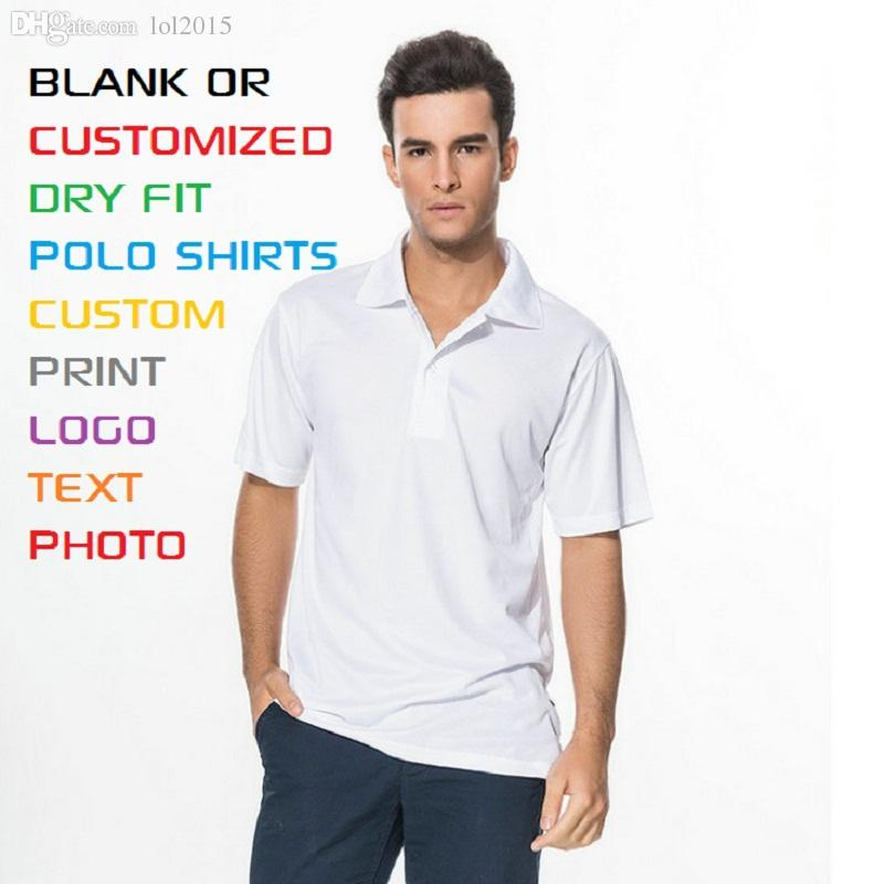 Best wholesale polo shirts adult men polyester quick dry for Blank polo shirts for embroidery