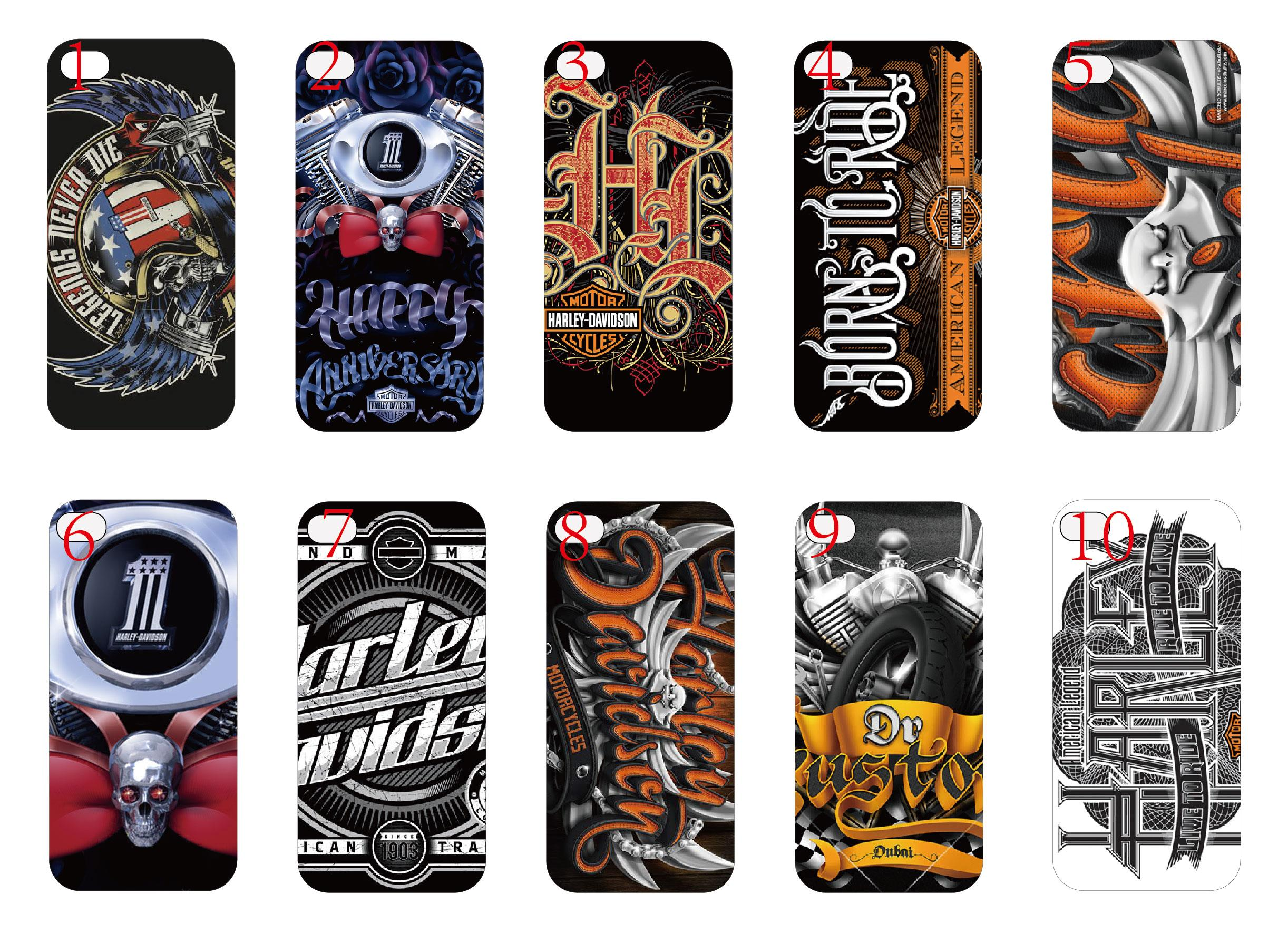 protection pour telephone portable vente chaude fashion trendy harley davidson hard cover case. Black Bedroom Furniture Sets. Home Design Ideas