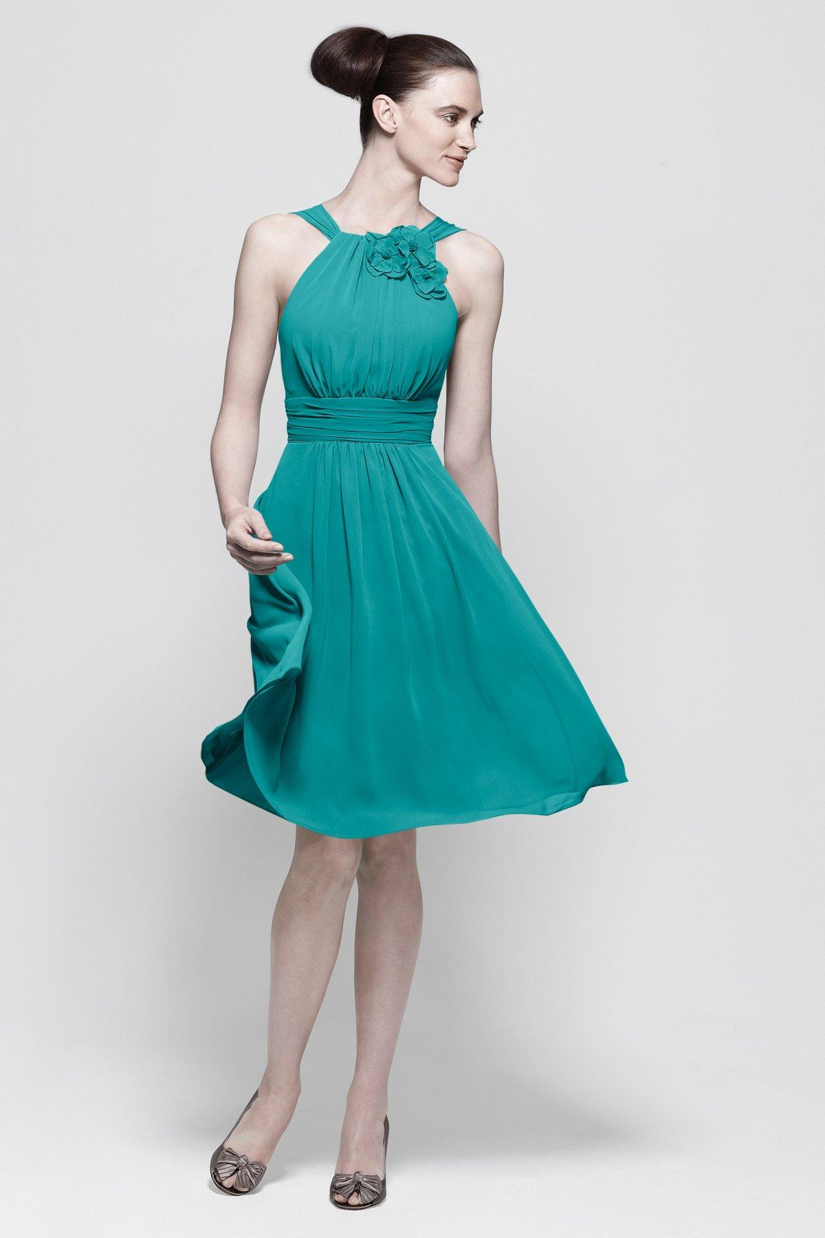 Turquoise Bridesmaid Dresses 2015 Short Maid Of Honor Dresses ...