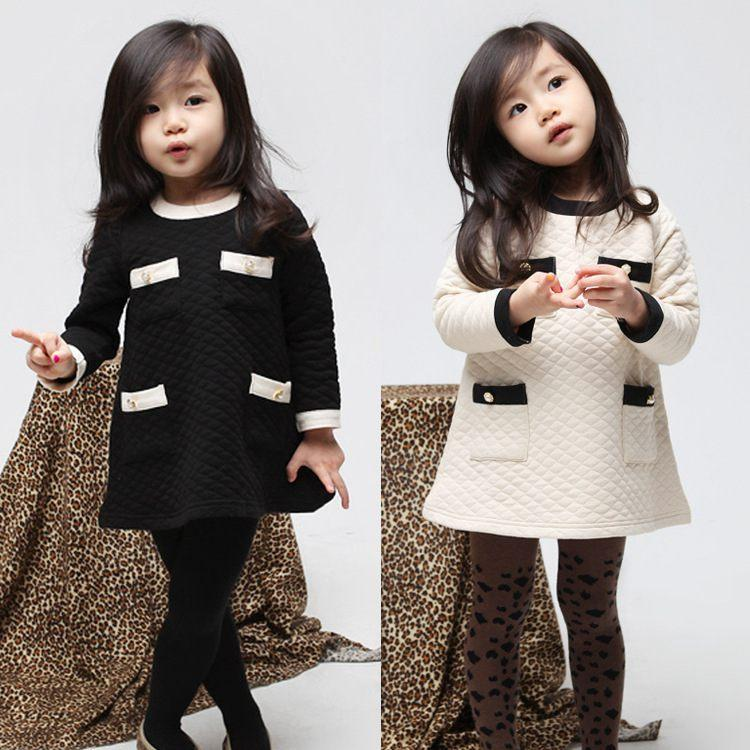 Wholesale Korean Baby Girl Winter Dress - Buy Cheap Korean Baby ...