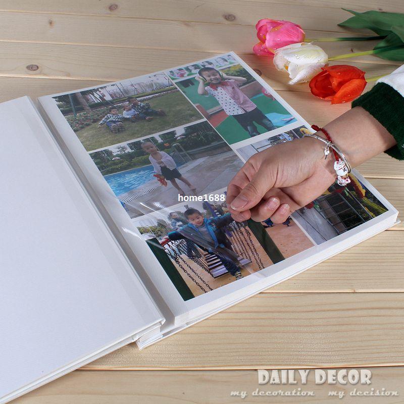 12 Inches Large Self Adhesive Sheets Pvc Photo Album