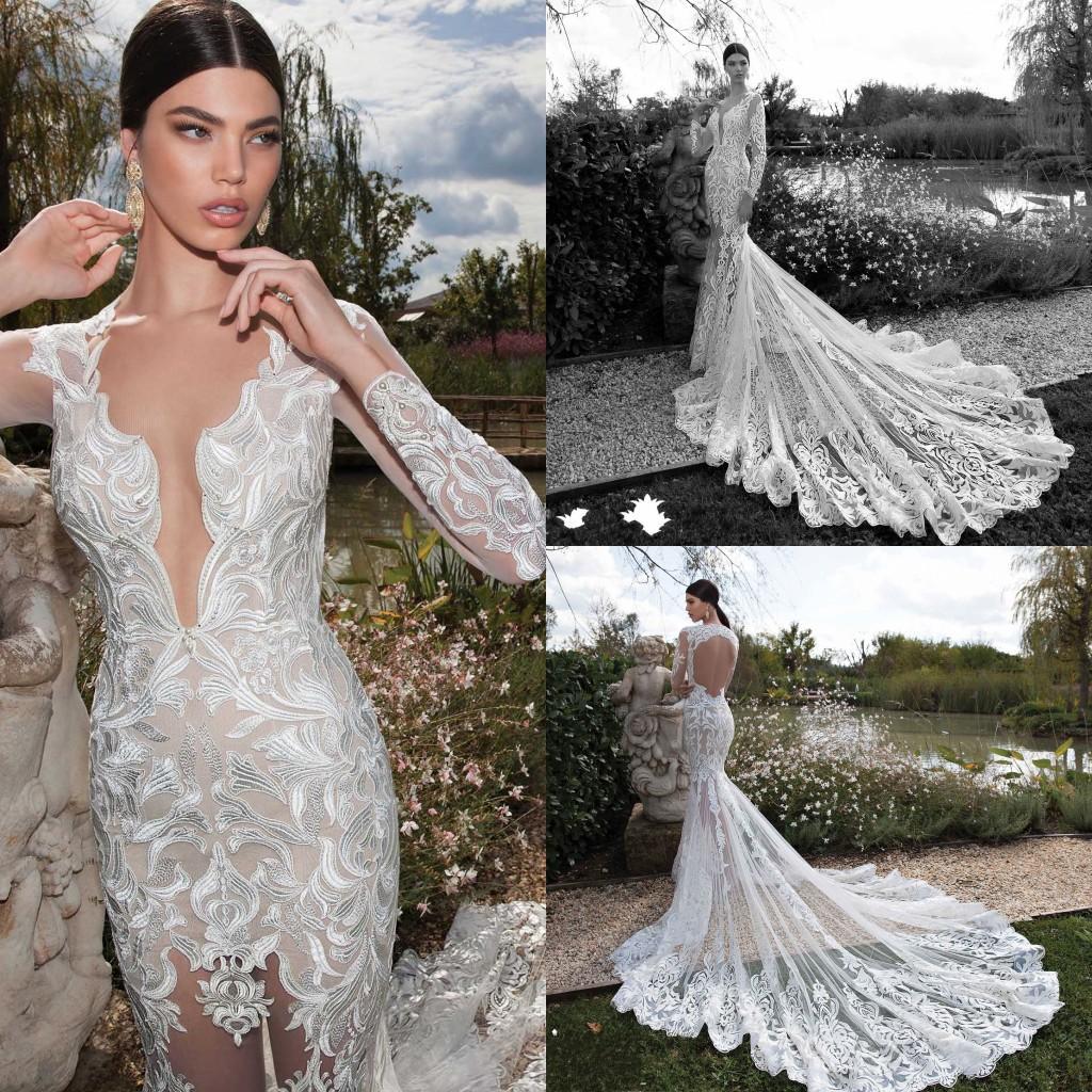 2015 Gorgeous Scoop Wedding Dresses Mermaid Backless