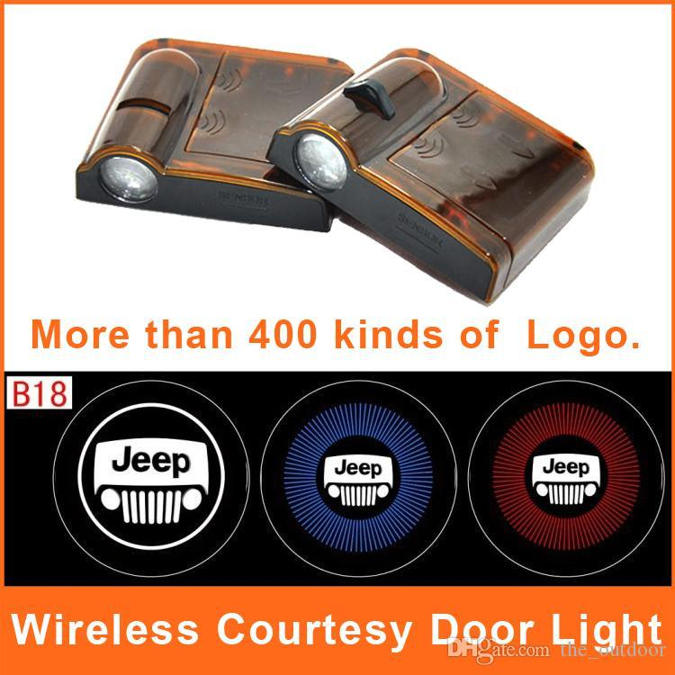 Led Car Logo Door Lights Jeep Emblems Logo Projector