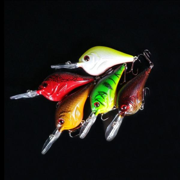 Fishing crankbaits lures hook bass 11g old fishing for Bass fishing lures for sale