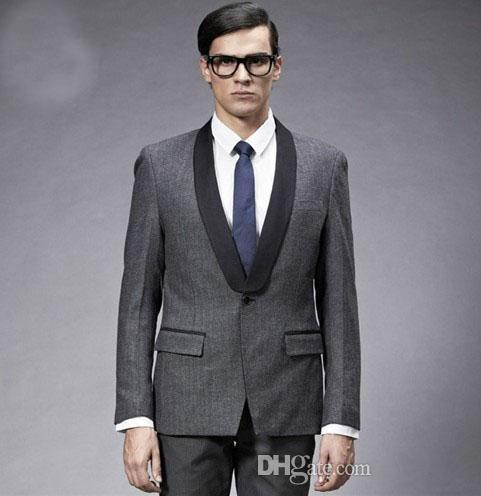 Two Pieces Wedding Suits Young Men'S Suit Design The Latest Model ...