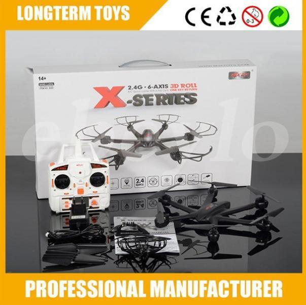 Upgrade FPV drone MJX X600 2.4G 6 Axis RTF RC Quadcopter Drone Can Add C4005 Camera with one key return button