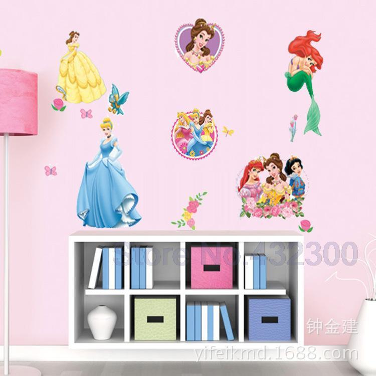 Disne Snow White Cartoon Wallpaper Vinyl Wall Stickers For Kids Rooms Girl  Home Decor Rooms Sofa Art Decals House Decoration JIA192 Snow White Wall  Stickers ...
