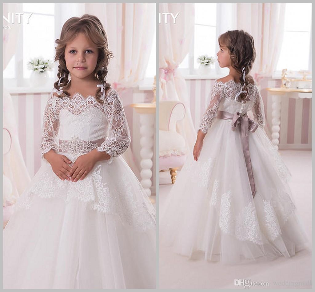 Flower girl holiday dresses long sleeves junoir bridesmaid dresses flower girl holiday dresses long sleeves 48 mightylinksfo Images