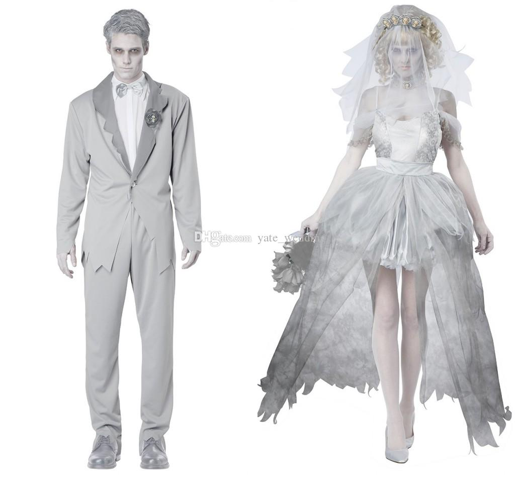 2016 Frightened Cosplay Costumes For Men Vampire Witch Halloween Adult