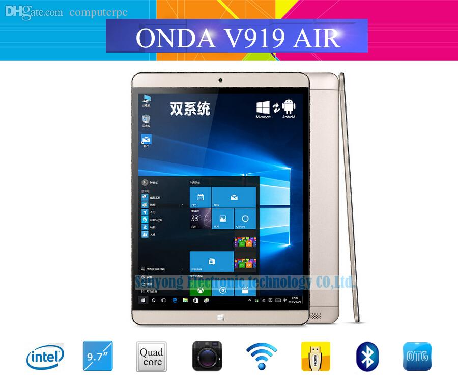 Wholesale onda v919 air dual os windows 10 android 4 4 for Wholesale windows