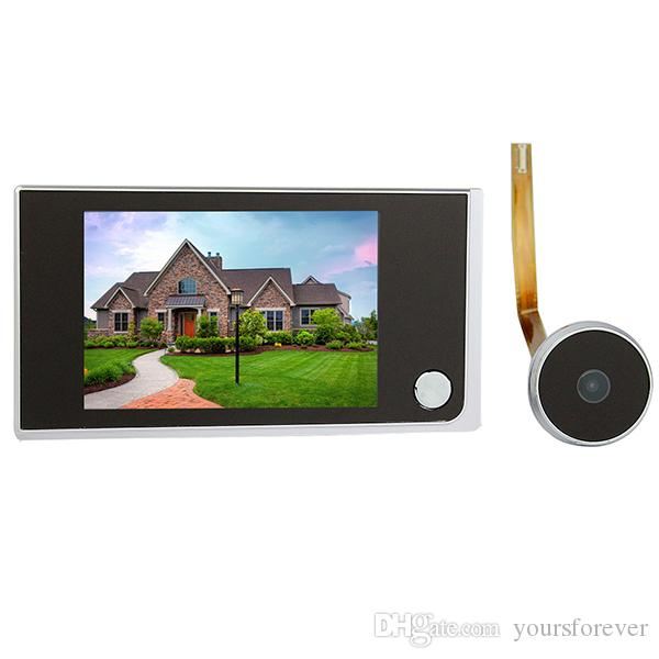 3 5 digital lcd door viewer 2 0 megapixel camera video for Door video camera
