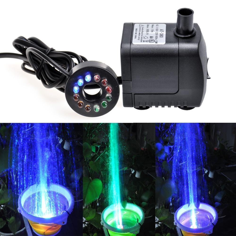 Fish aquarium pumps - High Qualtiy 15w 800l H Submersible Fish Aquarium Tank Pond Fountain Water Filter Pump 110v